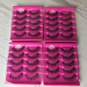 Other - 20 Pairs Of False Eyelashes